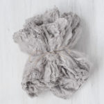 Nunofelt, hedvábí, cloud, cca 25x25