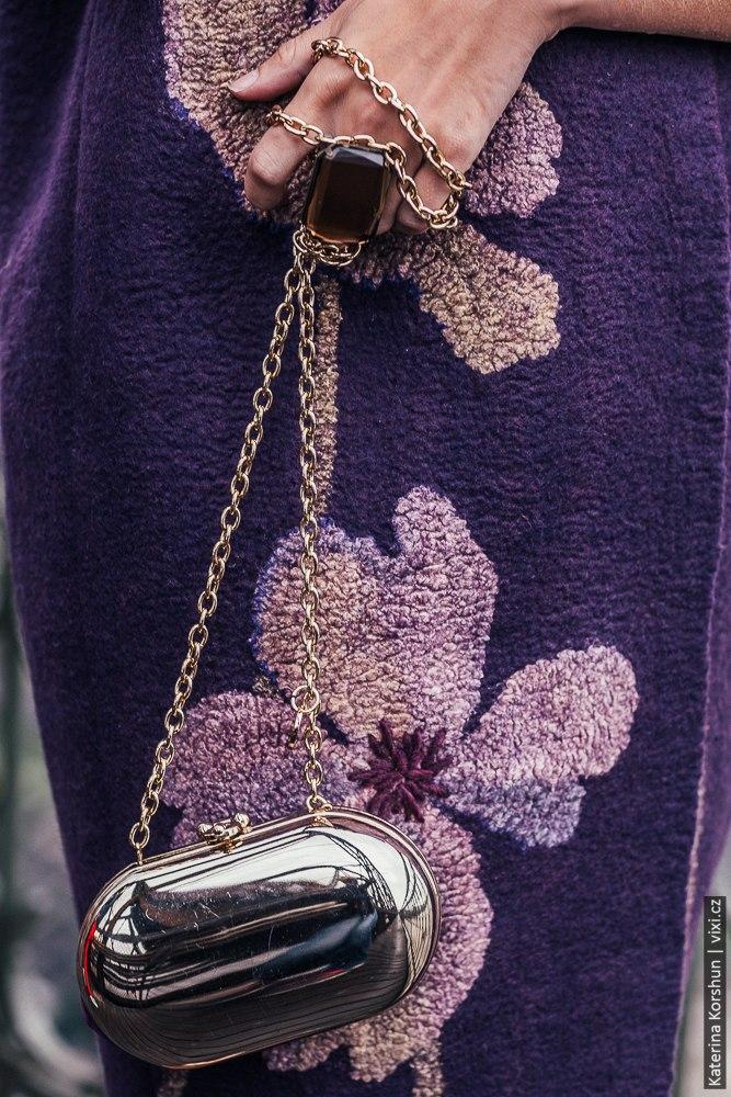 Kabátek Magnolie,Nunofelt ovčí vlna, Katerina Korshun, handmade