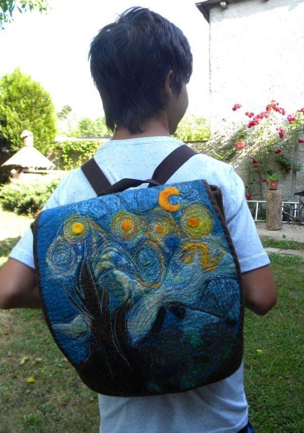Plstěný batoh