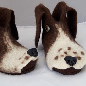 Domácí papuče - Pejsci