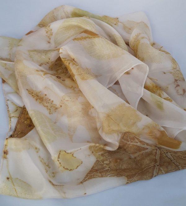 hedvábní šála